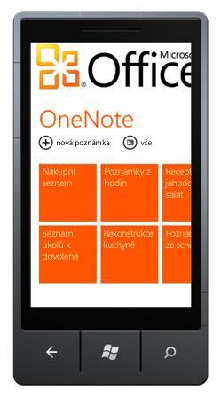 Centrum OneNote Mobile 2010