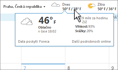 Panel Počasí