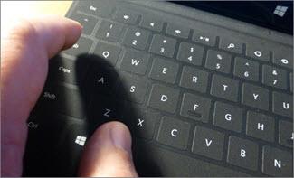 Bruge tastaturgenveje til at oprette en præsentation