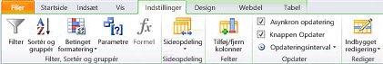 Åbn webstedet i SharePoint Designer 2010.