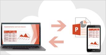 Speichern Ihrer Dateien in der Cloud