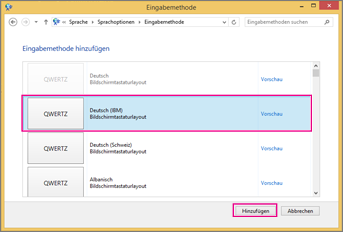 Office 2016 unter Windows 8 – Neue Eingabemethode