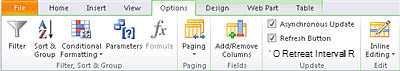 Geöffnete Website in SharePoint Designer 2010