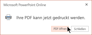 Ihre PDF ist fertig