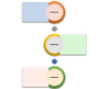 Alternating Picture Circles SmartArt graphic layout
