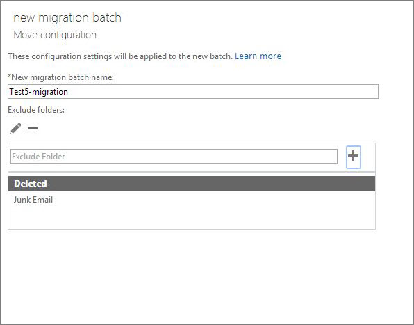Move configuration dialog