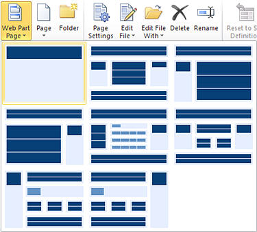 Create sharepoint site pages sharepoint designer for Draw website layout online