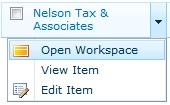 Open workspace in Duet