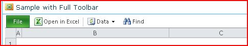 EWA toolbar showing Open, Data, Find and Help buttons