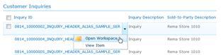 Open Inquiries workspace