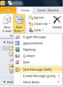 Use Exchange Server and Windows Mobile to send SMS