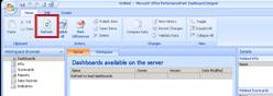 Click Dashboards in the Workspace Browser. Next, click the Home tab, and then click Refresh.