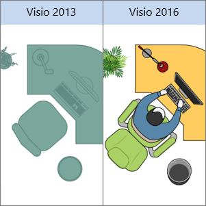 how to add shapes in visio 2013