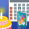 Use Outlook to create reminders for Birthdays and other events.