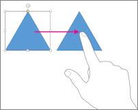 Slide gesture
