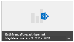 Default thumbnail image for workbook in Power BI for Office 365 site
