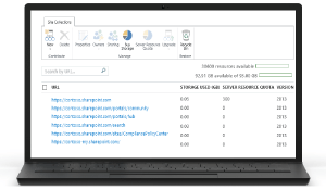 Image of SharePoint Online administration tools