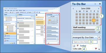 To-Do Bar in Outlook 2007