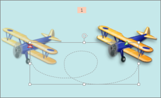 """""""Curvey Left"""" motion path"""