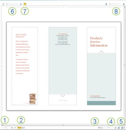 print preview in publisher 2010