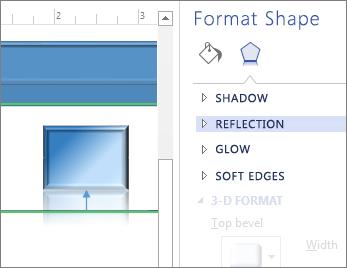 Format shape