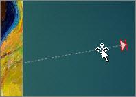 Click the motion path and press DELETE