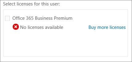 Buy more licenses