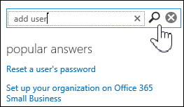 Enter search words in the Assistance panel to look for topics