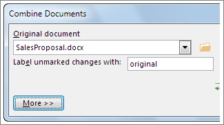 Original document box