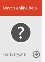 Search online help (for everyone)