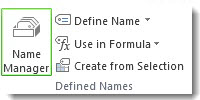 Name Manager command