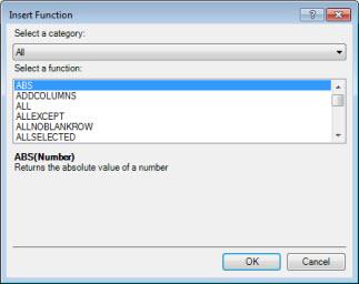 Insert Function