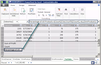 Explicit Calculated Field