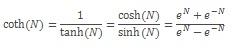 COTH equation