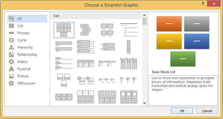 learn more about smartart graphics