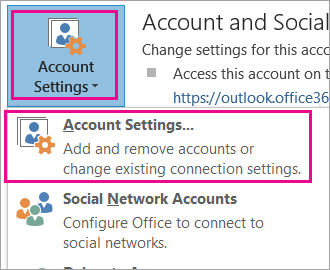 To remove your Gmail account, choose File, Account Settings, Account Settings.