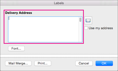 free address label templates for mac - use avery templates in word 2016 for mac word for mac