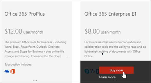 Buy another office 365 for business subscription office 365 - Company administrator office 365 ...
