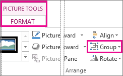 how to make shapes in word a group