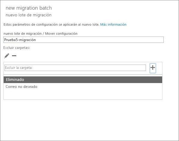 Cuadro de diálogo de Mover configuración