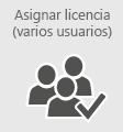 Asignar licencias de Office 365 a varios usuarios al mismo tiempo.