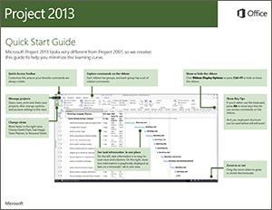 Guía de inicio rápido de Project 2013
