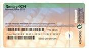 Certificado de autenticidad y clave de producto del fabricante de su PC