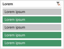 Segmentación de datos de tabla