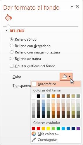 Fondo de color sólido