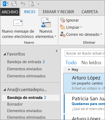 Tema gris oscuro de Office