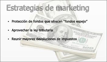 imagen transparente en el fondo de una diapositiva de PowerPoint