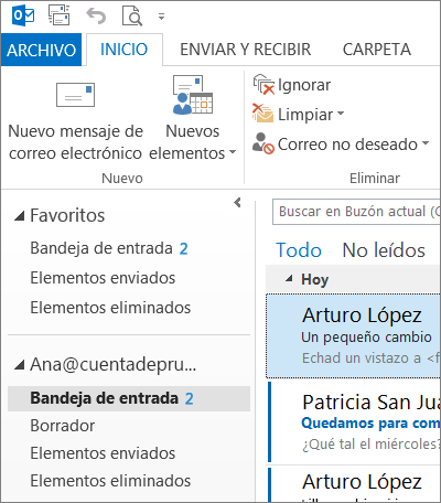 Tema blanco de Office