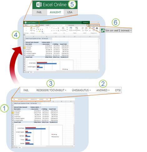 Excel Web Appi ülevaade
