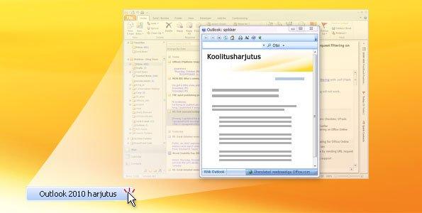 Outlook 2010 – harjutamine